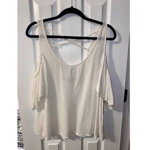 Women's Cold Shoulder New Top